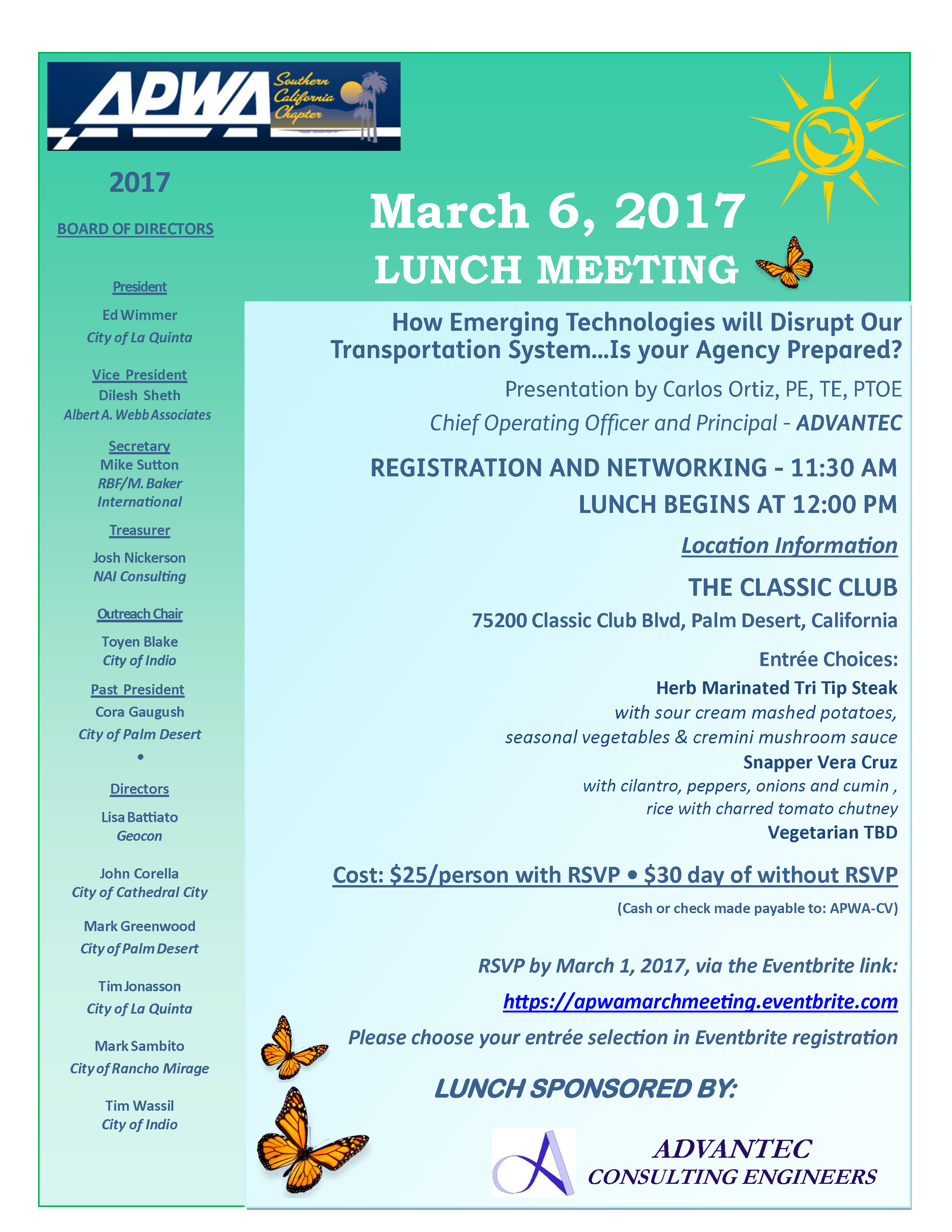 MARCH 2017 APWA Luncheon Flyer